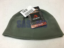 US ARMY ISSUED POLARTEC MICRO SERIES FLEECE HAT FOLIAGE GREEN CAP ONE SIZE NEW