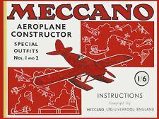 Hobby Costruzioni - Meccano Manual Aeroplane Constructor 1935 (english) - DVD