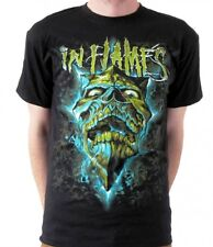 In Flames-Glowing Jester MINT-T-SHIRT-taglia size S-NUOVO