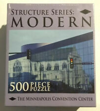 Structure Series: Modern 500 Piece Puzzle Minneapolis Convention Center XI Media