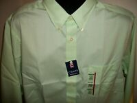Men's NWT Chaps Wrinkle Free Long Sleeve Button Down Dress Shirt Size XL