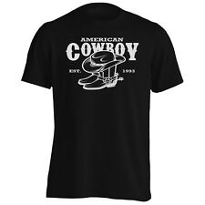 American Cowboy Western USA Men's T-Shirt/Tank Top w517m