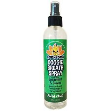Natural Pet Breath Spray for Dogs Teeth and Healthy Gums   Best for Tartar Cl...
