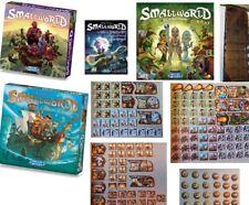 Small World game expansions Cursed Grand Dames Royal Bonus Necromancer Riverland