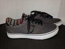 Vans Men's Atwood Deluxe Cali C&L Asphalt/White Skate Sneakers Sizes 11.5