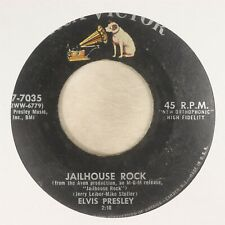 ''Jailhouse Rock'' by Elvis Presley, 45 RPM ©