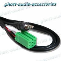 Renault Twingo Aux IN Input Adapter for IPOD MP3 iPhone CT29RN02