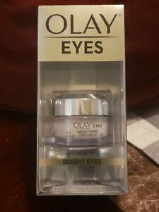 NEW!! Olay Eyes BRIGHT EYES Brightening Eye Cream .5oz