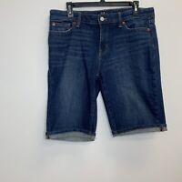 Gap Women's Denim Bermuda Shorts Size 30 Blue