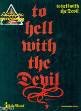 STRYPER To Hell With The Devil songbook Guitar Tablature Michael Sweet tab book