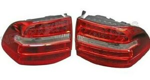 For Porsche Cayenne 08-10 Pair Set Of 2 Taillight Assies w/ Bulb Holders Genuine