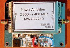 2,4GHz QO-100 - Es´Hail  PA - Amplifier, MW7IC2240