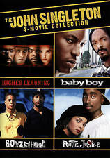 The John Singleton 4-Movie Collection (DVD, 2015, 3-Disc Set)