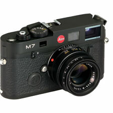 New Leica M7 Rangefinder Summicron 50mm F2 Camera Black 0.72 x MP Finder 10546