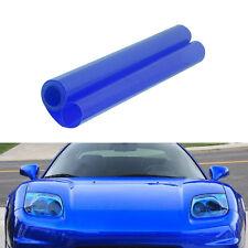 Xenon HID Blue Tint Vinyl Film Overlay Wrap Sheet For Headlight Fog Lights 12X48