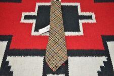Ralph Lauren RRL Made in Italy Handmade 100% Wool Tweed Tie