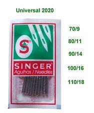 10x Nähmaschinennadeln Flachkolben System 2020 - 70/80/90/100/110 für Singer usw