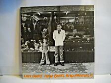 MINT Record Original New Boots and Panties by Ian Dury UK Stiff records 1977