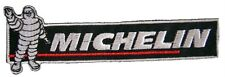 New Michelin logo Tire Racing embroidered iron-on patch. 5.3 x 1.75 inch (i130)