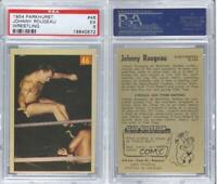 1954 1954-55 Parkhurst Wrestling #46 Johnny Rougeau PSA 5 EX Card
