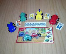 POWER-CARS COMPLETE SET WITH ALL PAPERS KINDER SURPRISE 2017/2018