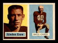 1957 Topps #91 Lindon Crow DP EX/EX+ X1609037