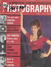 Popular Photography--March 1956 Brigitt Bardot by Halsman-----15