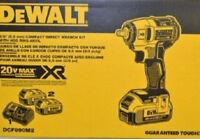 "Dewalt DCF890M2 20 Volt Max 3/8"" Drive Impact Wrench Kit"