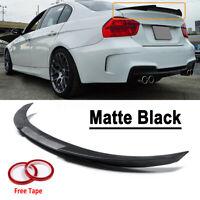 Matte Black Rear Trunk Spoiler Wing-M4 Style For 06-11 BMW E90 3 Series Sedan