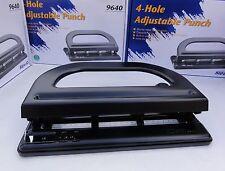 Adjustable Heavy Duty 4-Hole Punch Capacity 30 Sheets