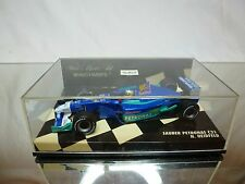 MINICHAMPS SAUBER PETRONAS C21 - RED BUL NICK HEIDFELD - F1 1:43 - GOOD IN BOX