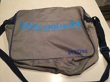 Vtg Rion Corporation Japan Messenger Bag 1994 Yokohama Inter Noise