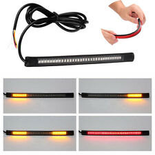 Flexible SMD 48LED Strip Tail Stop Brake Light Tailgate DRL Lamp Motorbike