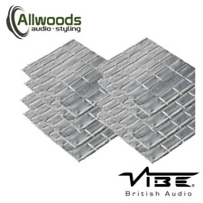 Vibe Anti-Vibe Car Audio Sound Deadening 2.5mm Car 8 Sheets Sound Proofing
