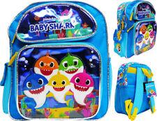 """Baby Shark 12"""" Toddler School Backpack Girl's Book Bag"""