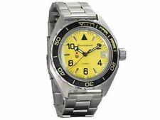 Vostok Komandirskie 650855 Watch Automatic Russian Wrist Watch Yellow New