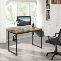 """Computer Desk for Small Space 47"""" Home Office Writing Desk with Storage Bag"""