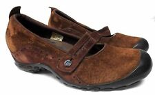 Merrell women's size 7..5 brown suede mary jane comfort shoes