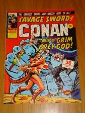 CONAN SAVAGE SWORD #3 BRITISH WEEKLY 1975 MARCH 22ND