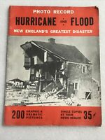 Photo Record Hurricane And Flood New England's Greatest Disaster Sept. 21, 1938