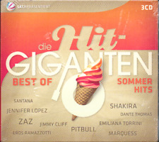 Die Hit-Giganten, Best of Sommerhits, NEU/OVP (3 CD`s)