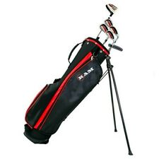 Ram Golf SGS Mens Golf Clubs Starter Set with Stand Bag - Steel Shafts