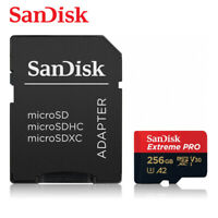 SanDisk 256GB Extreme PRO A2 micro SDXC UHS-I U3 V30 Card up to 170MB + Tracking