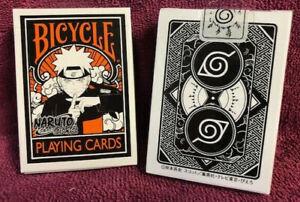 1 DECK Bicycle Naruto Shippuden Japan anime playing cards USA SELLER!
