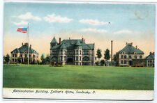 Soldiers Home Administration Building Sandusky Ohio 1907c postcard