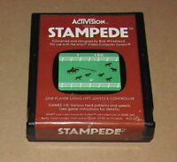 Stampede for Atari 2600 Fast Shipping! Authentic