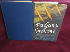 The GUNS of NAVARONE ~ Alistair MacLean RARE HbDj 1964. Naval adventure  in MELB