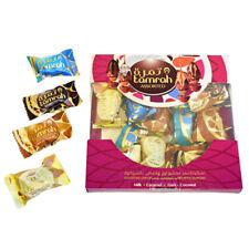 Tamrah Luxe Halal Assorties Chocolat Couvert dates avec Amande Boîte 200 g