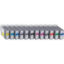 12 Canon ipf 6300 ipf 6300s ipf 6350 PFI-106 PFI-105 Ink cartridges