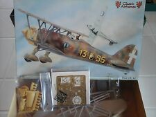 FIAT CR42 1/48 SCALE CLASSIC AIRFRAMES MODEL+PHOTOETCHED+RESIN+VACUFORM+METAL PA